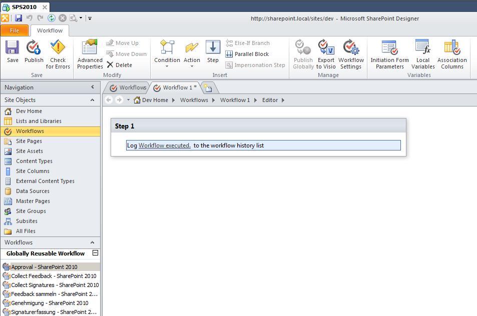 Walkthrough: How to move or copy a SharePoint Designer 2010 List ...