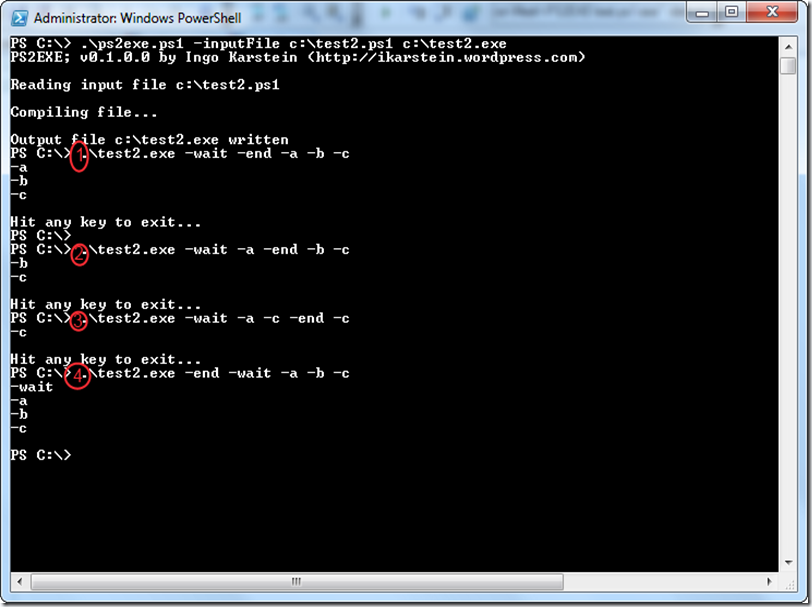 """PS2EXE: Tool for """"converting"""" PowerShell scripts to"""